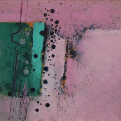 UNTITLED (PHTHALO GREEN AND ERYTHRITE)