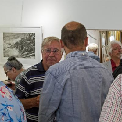 Plymouth Society of Artists at the Artmill Gallery, August 2018