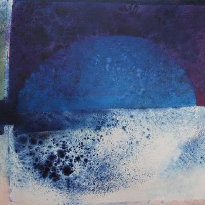 DE LANK XI - MANGANESE VIOLET AND PHTHALO BLUE