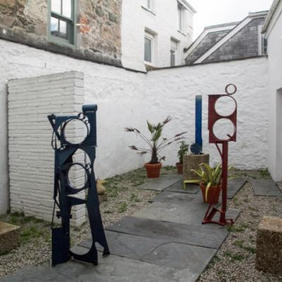 Penwith Society of Arts, Sculpture Courtyard , September 2018