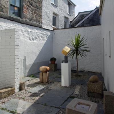 Sculpture Courtyard, July 2015
