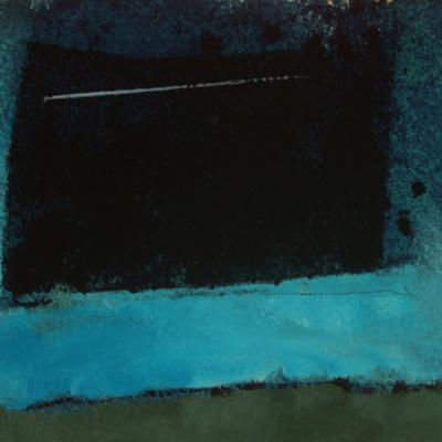 STUDY FOR QUARRY SERIES: PRUSSIAN BLUE SETT