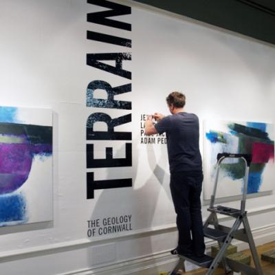 Installation of Terrain, September 2014