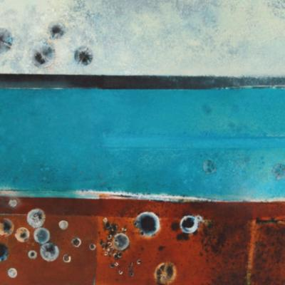 MINIONS MOOR IV - RED OXIDE AND CHRYSOCOLLA